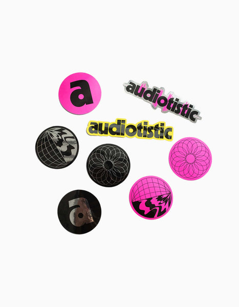 Audiotistic Sticker Set
