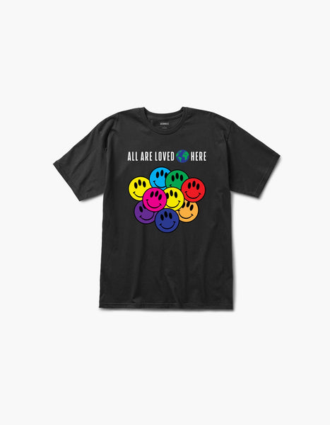 All Are Loved Here S/S Tee Black