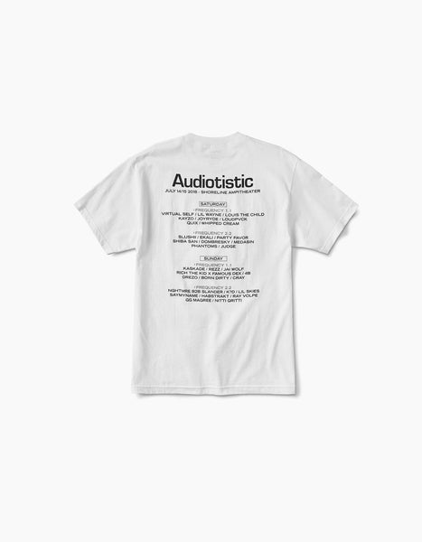 Audiotistic Spark 2018 SF Line Up Tee