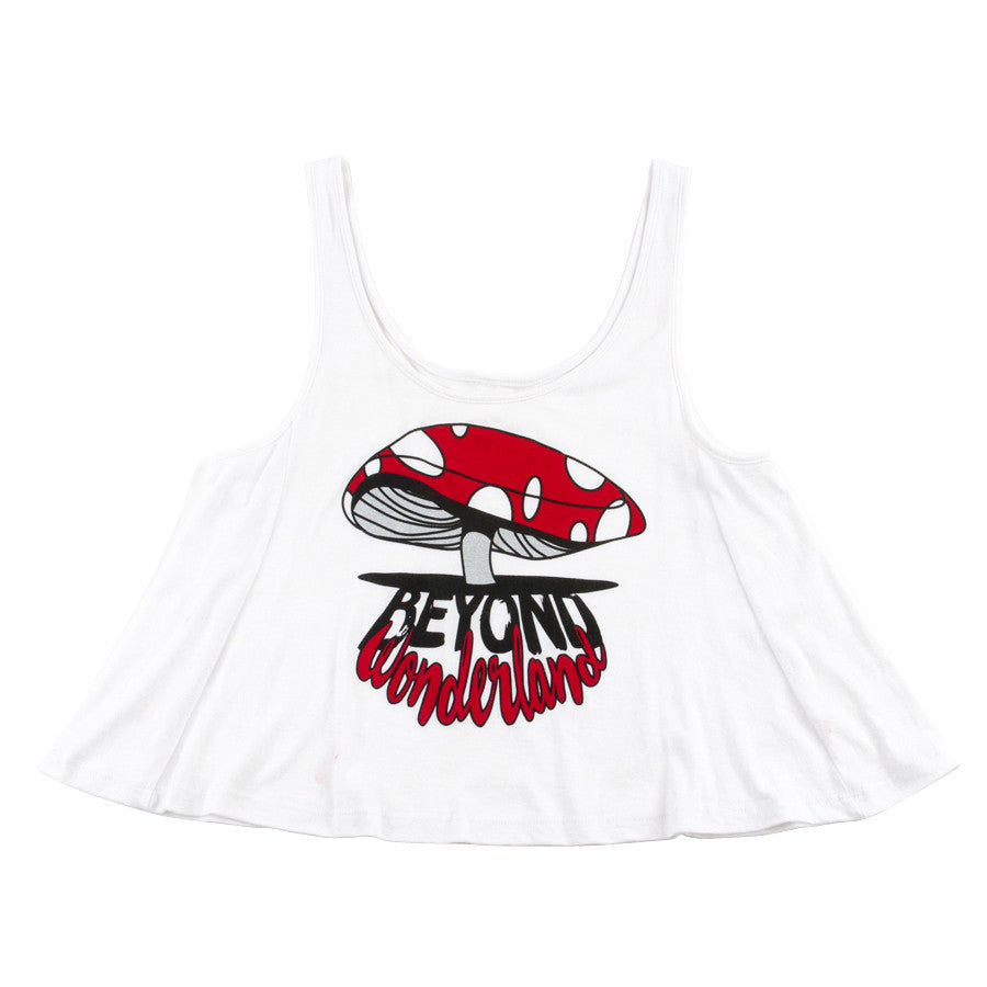 Beyond Wonderland Shroomin Womens Crop Top