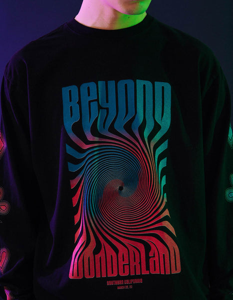Beyond Wonderland Freefall L/S Tee