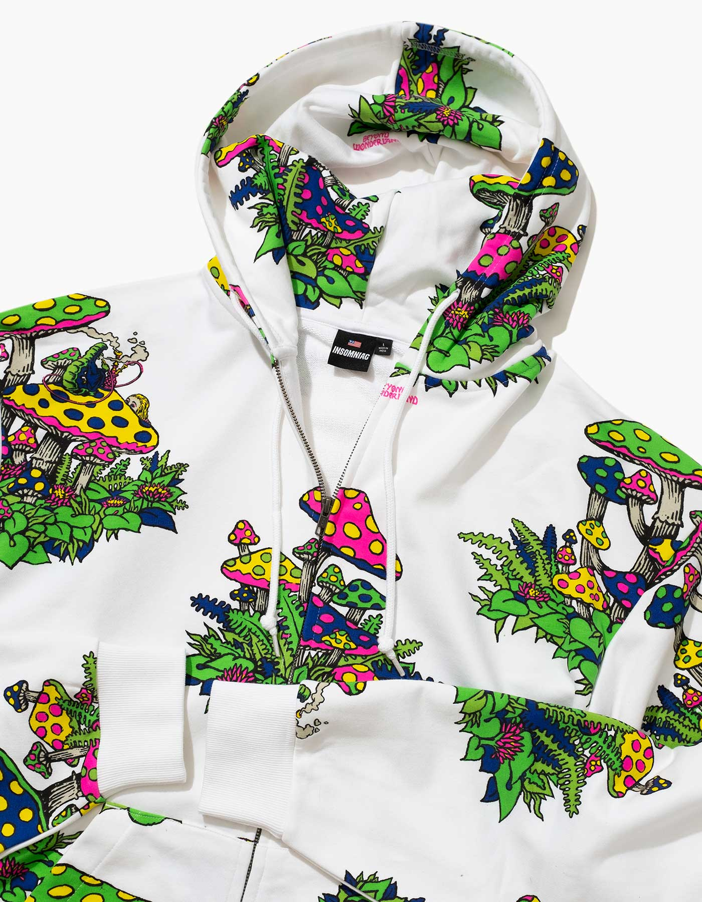 Beyond Wonderland Garden Zip Hood