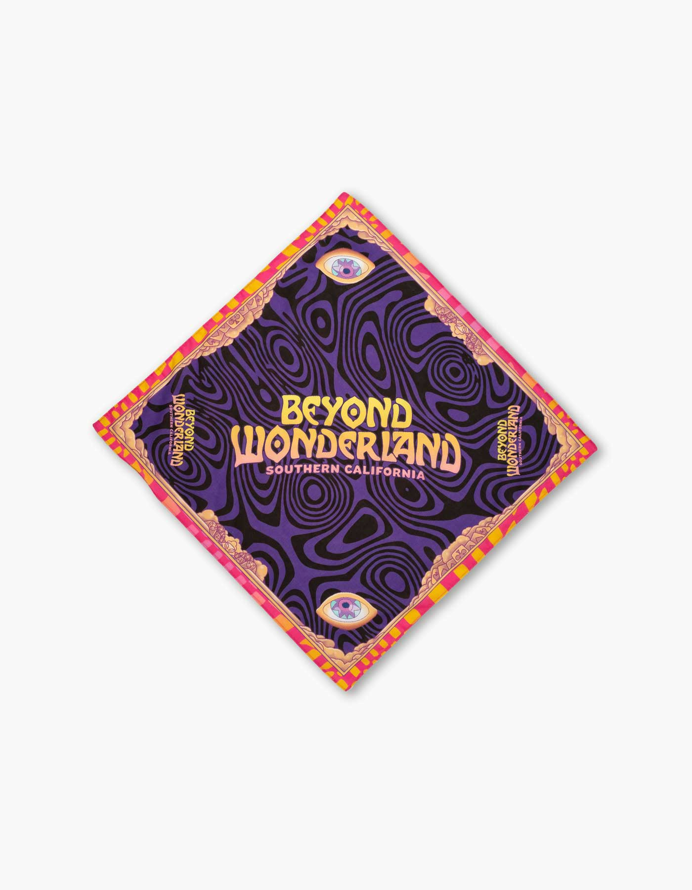 Beyond Wonderland Warped Bandana