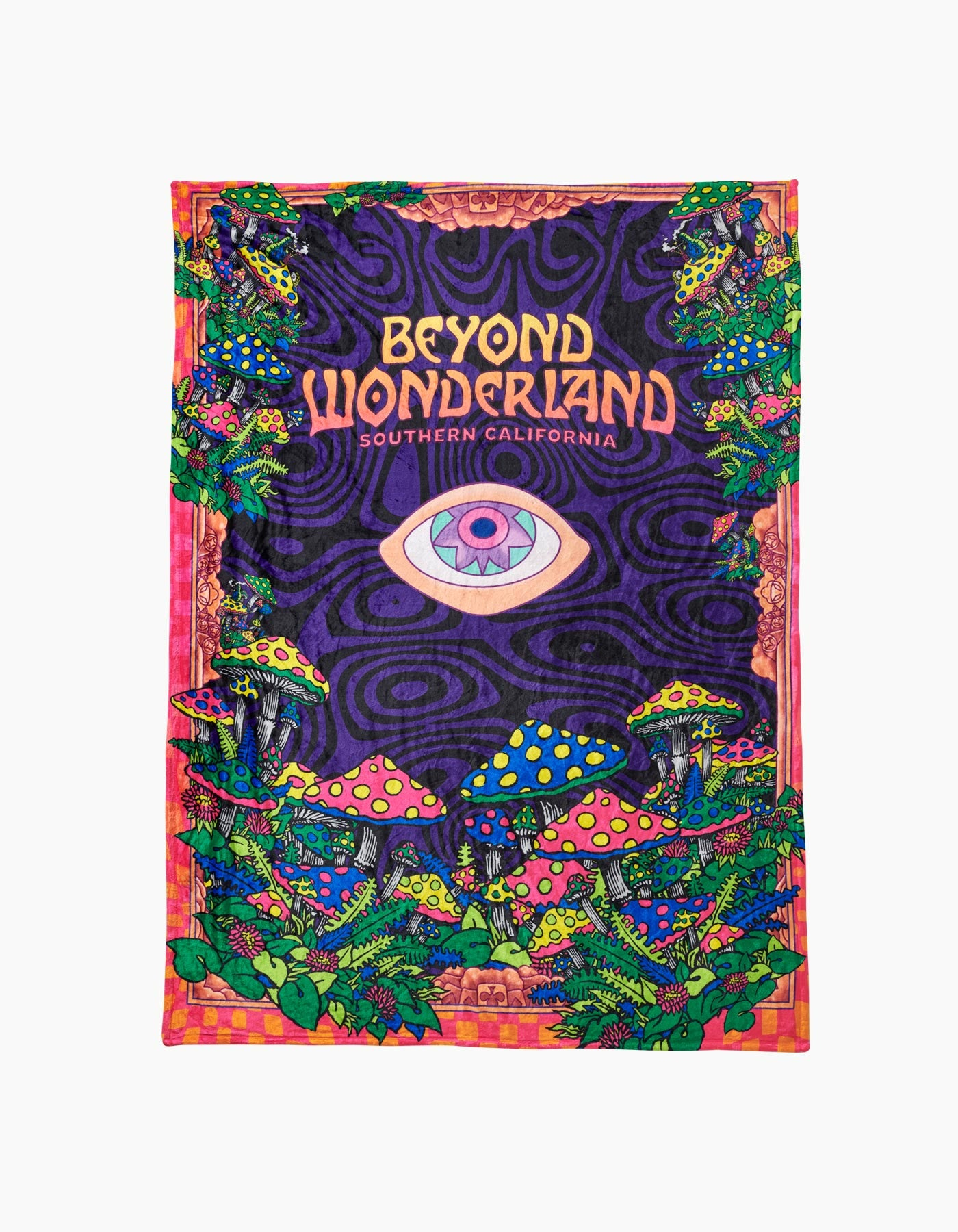 Beyond Wonderland Warpzone Blanket