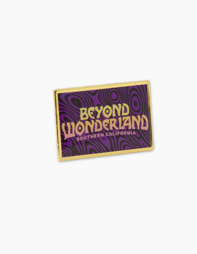 Beyond Wonderland Warpzone Pin