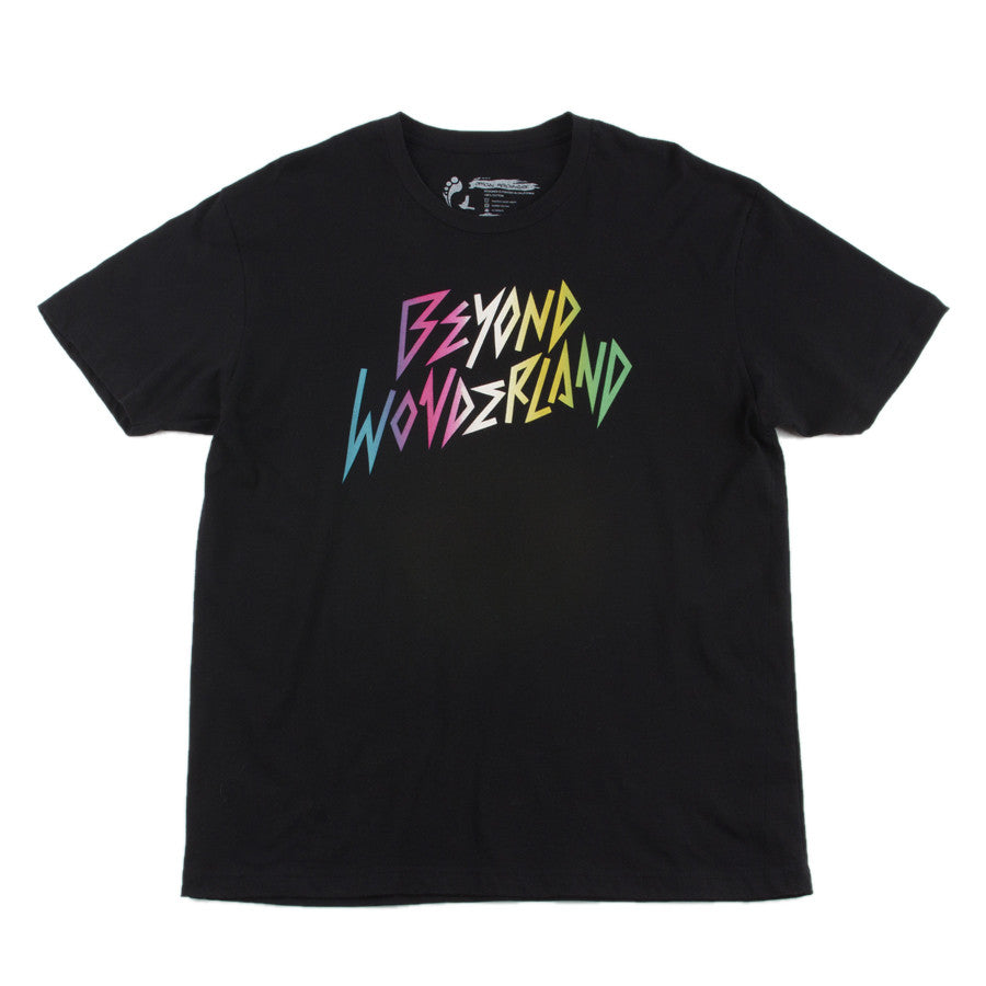 Beyond Wonderland Rad Text Tee