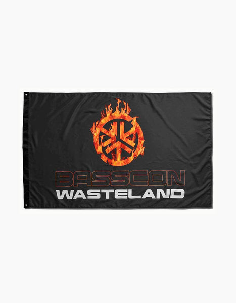 Basscon - Wasteland Fire Flag