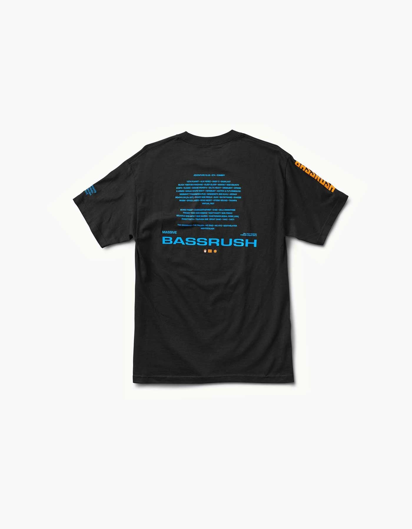 Bassrush - Massive 2018 Line Up Tee