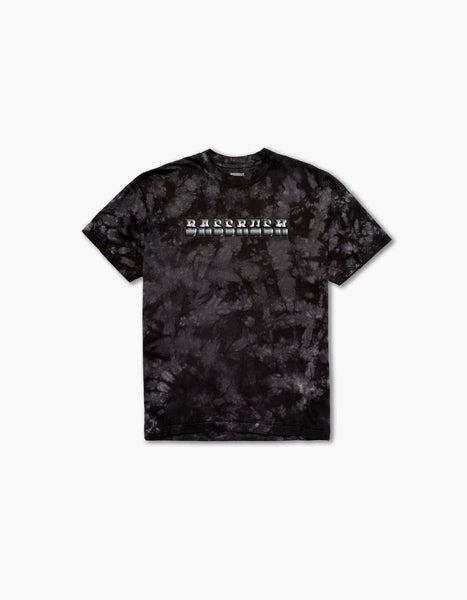 Bassrush Triple Threat Tie Dye S/S Tee Black