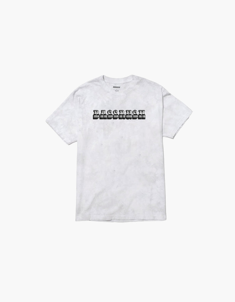 Bassrush Triple Threat Tie Dye S/S Tee White