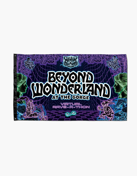 Beyond Wonderland The Gorge Glow Flag