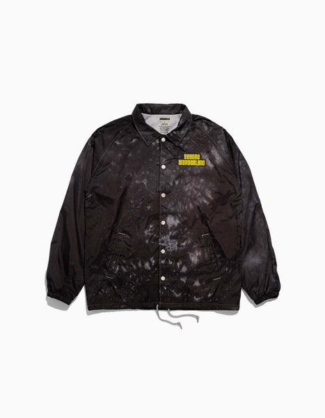 Beyond Wonderland Keyhole Coaches Jacket Black