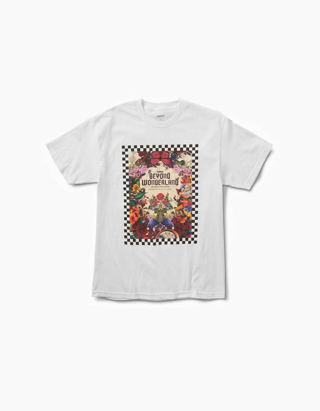 Beyond Wonderland 2018 Line Up Tee White