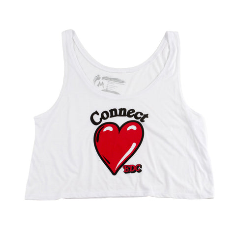 EDC Heart Connect Crop Top
