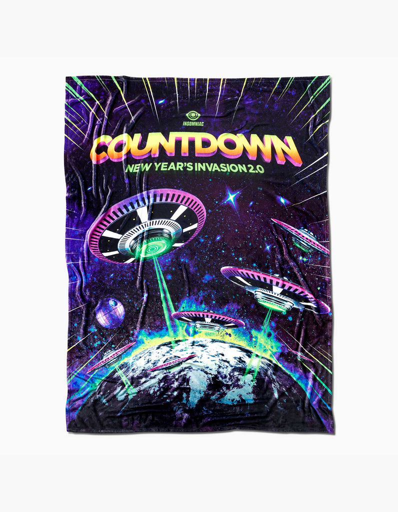 Countdown 2019 Invasion 2.0 Blanket