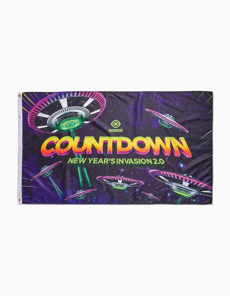 Countdown 2019 Invasion Flag
