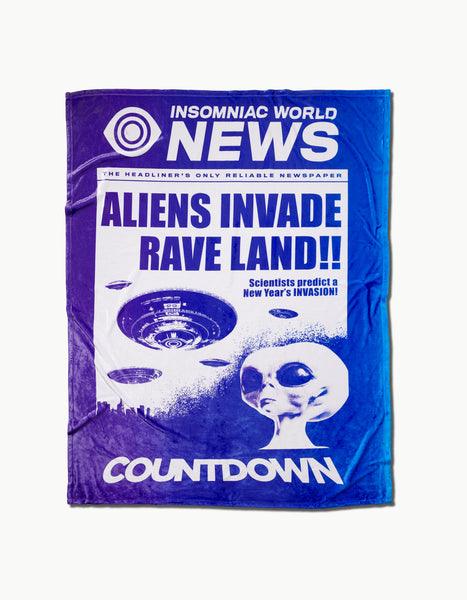 Countdown 2018 - Invasion Blanket