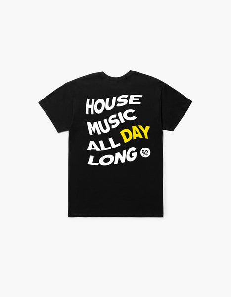 Day Trip House Tee Black