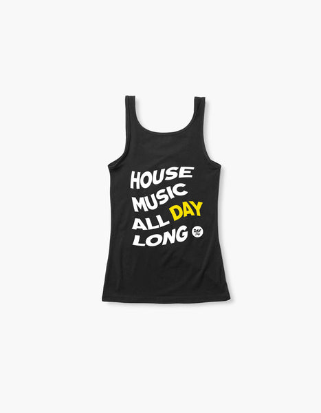 Day Trip House Womens Tank Black