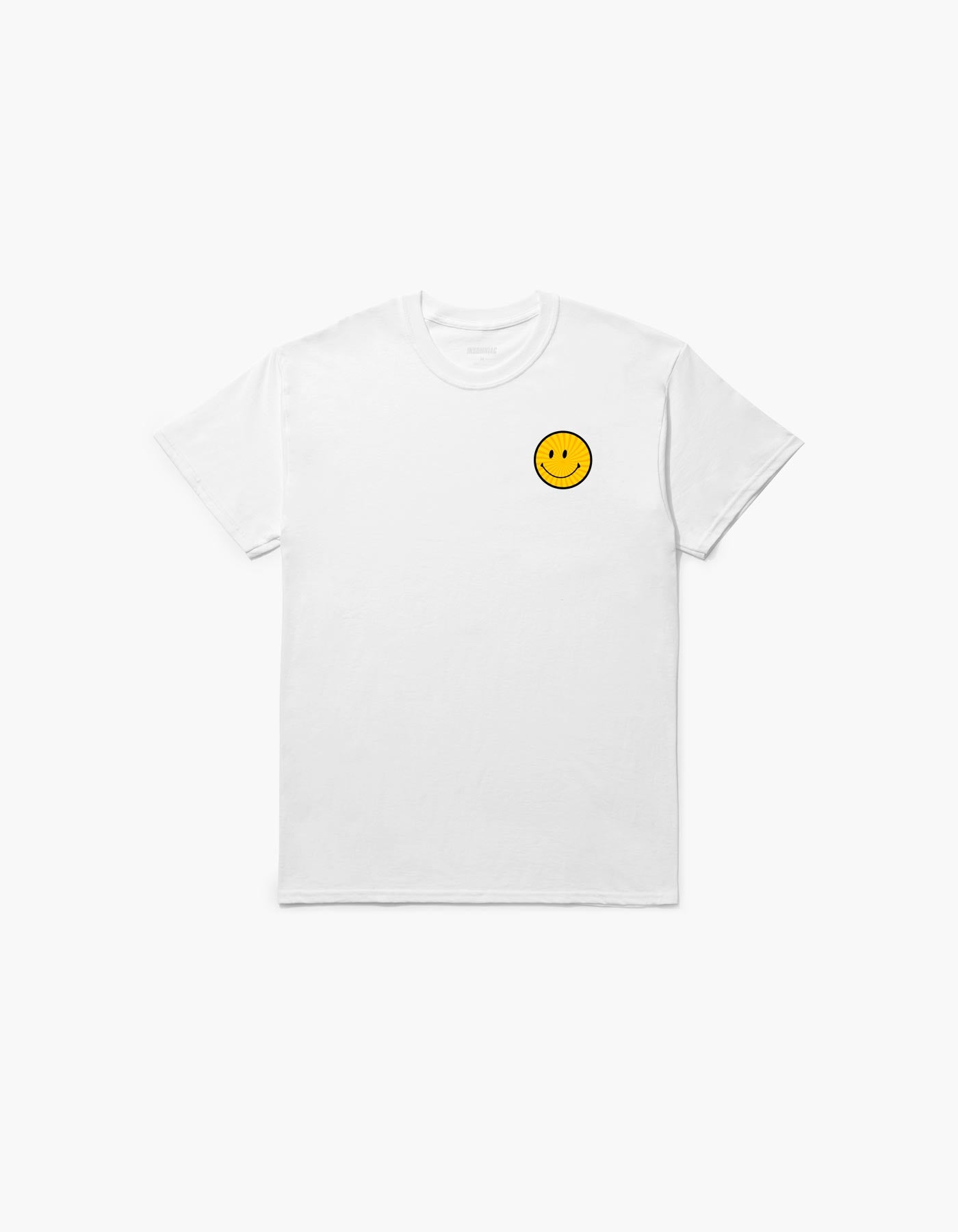 Day Trip Smile Tee White