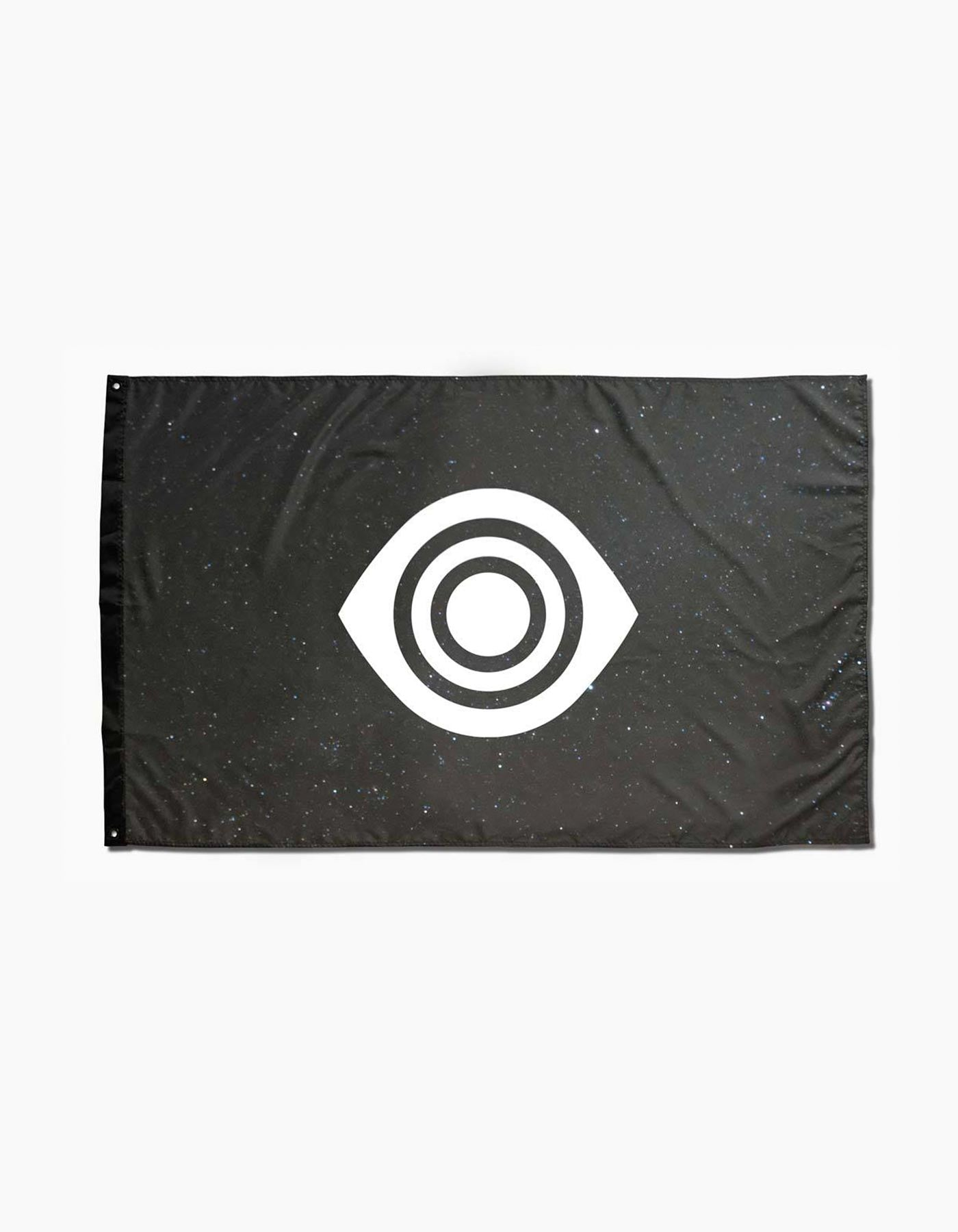 Insomniac Eye Galaxy Flag