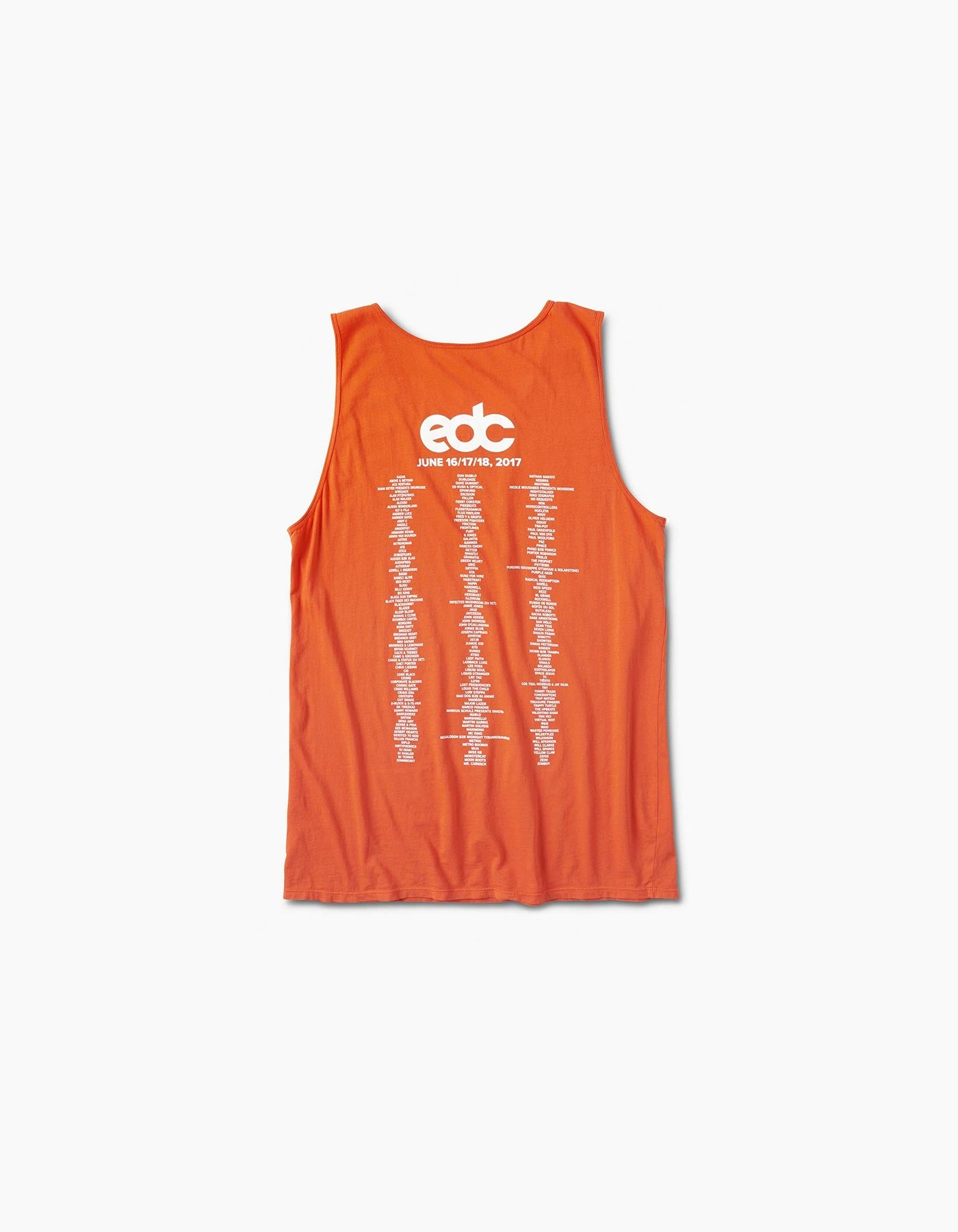 EDC Vegas - 2017 Horizon Line Up Tank