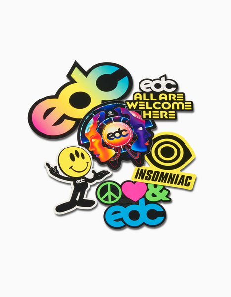 EDC 2019 Sticker Pack