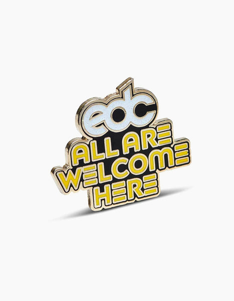 EDC All Are Welcome Here Pin