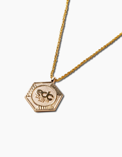 EDC Gold Portal Necklace