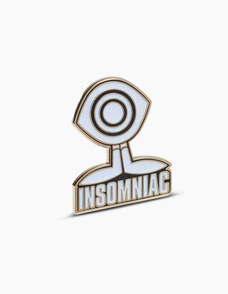 EDC Insomniac Eye Guy Pin