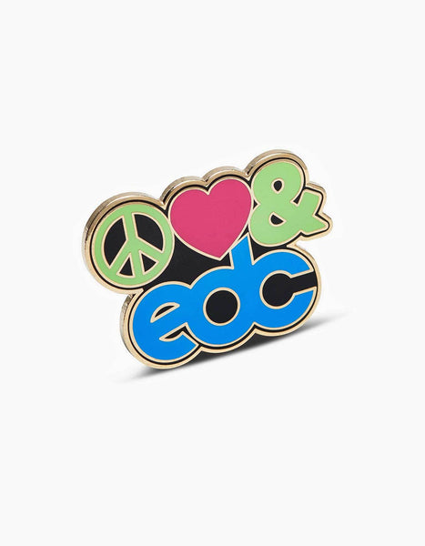 EDC Peace Love EDC Pin