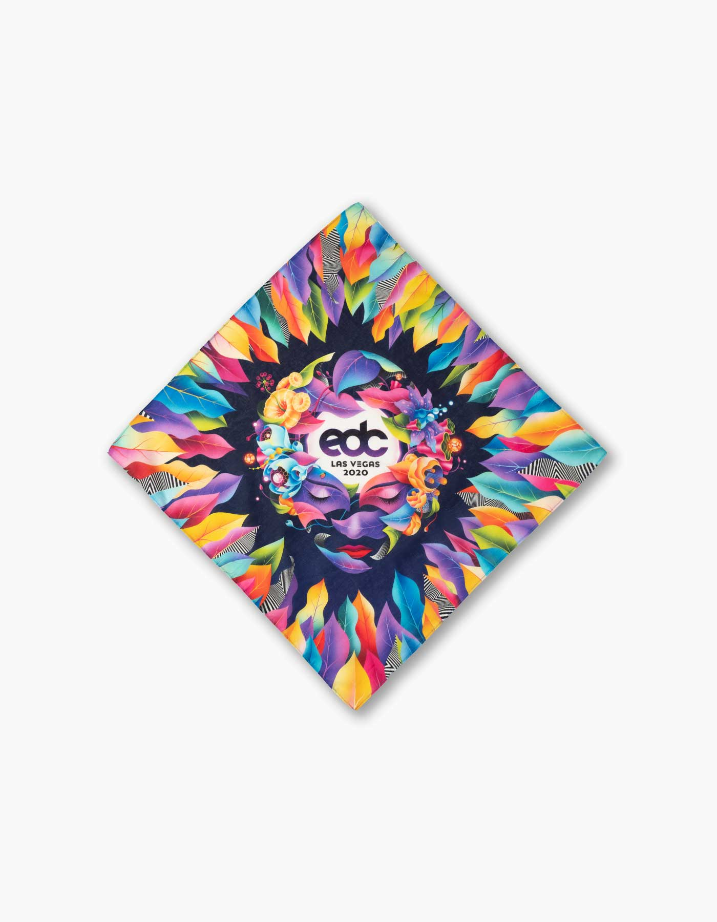 EDC Moonflower Bandana