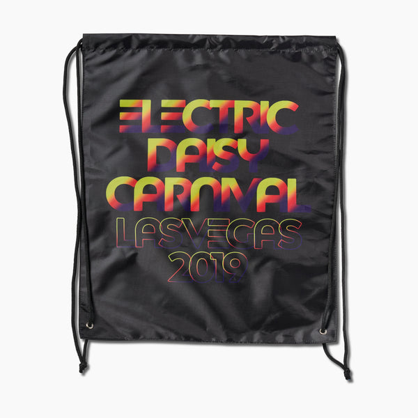 EDC 2019 Electro Fade Cinch Bag