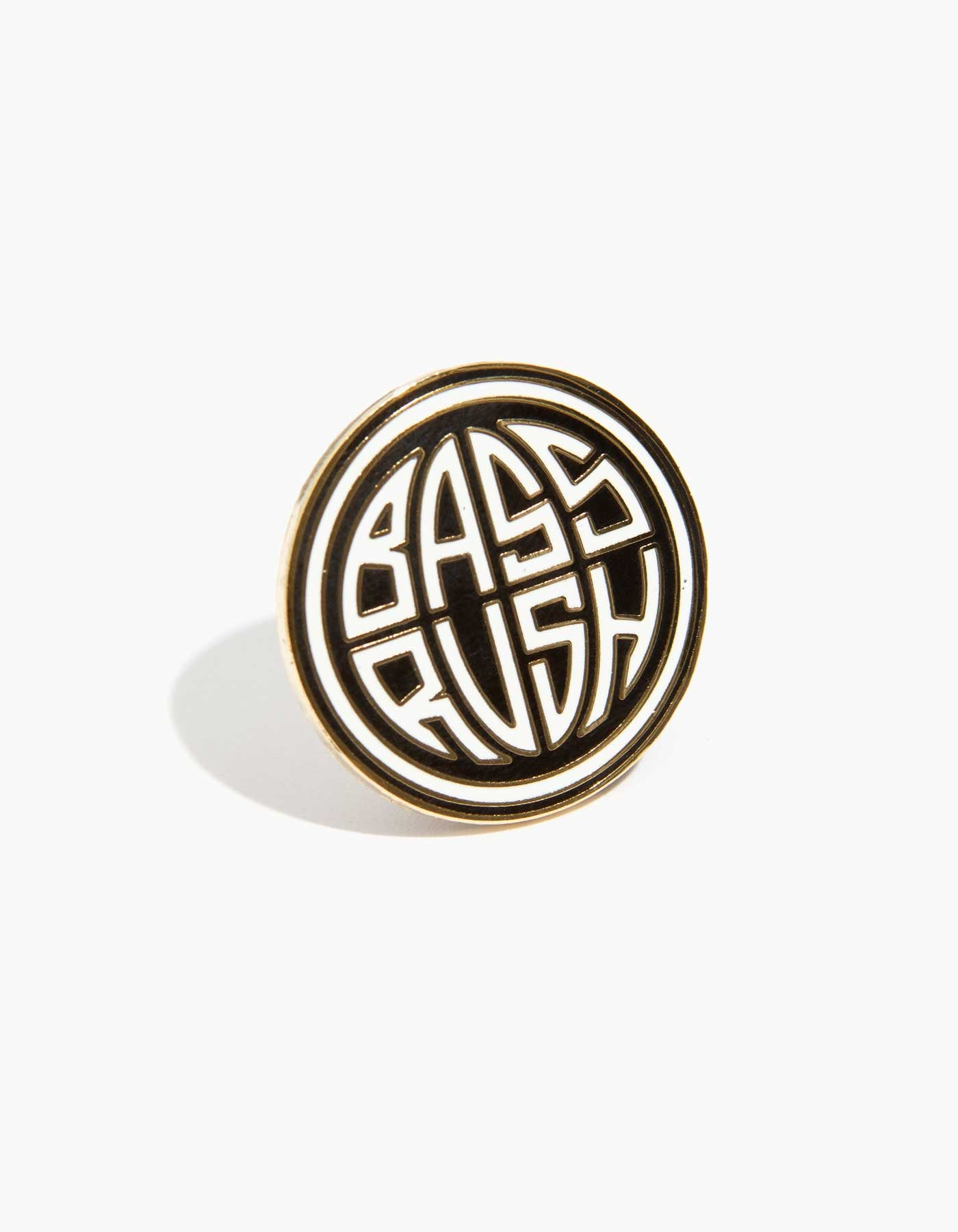 Bassrush Circle Logo Pin