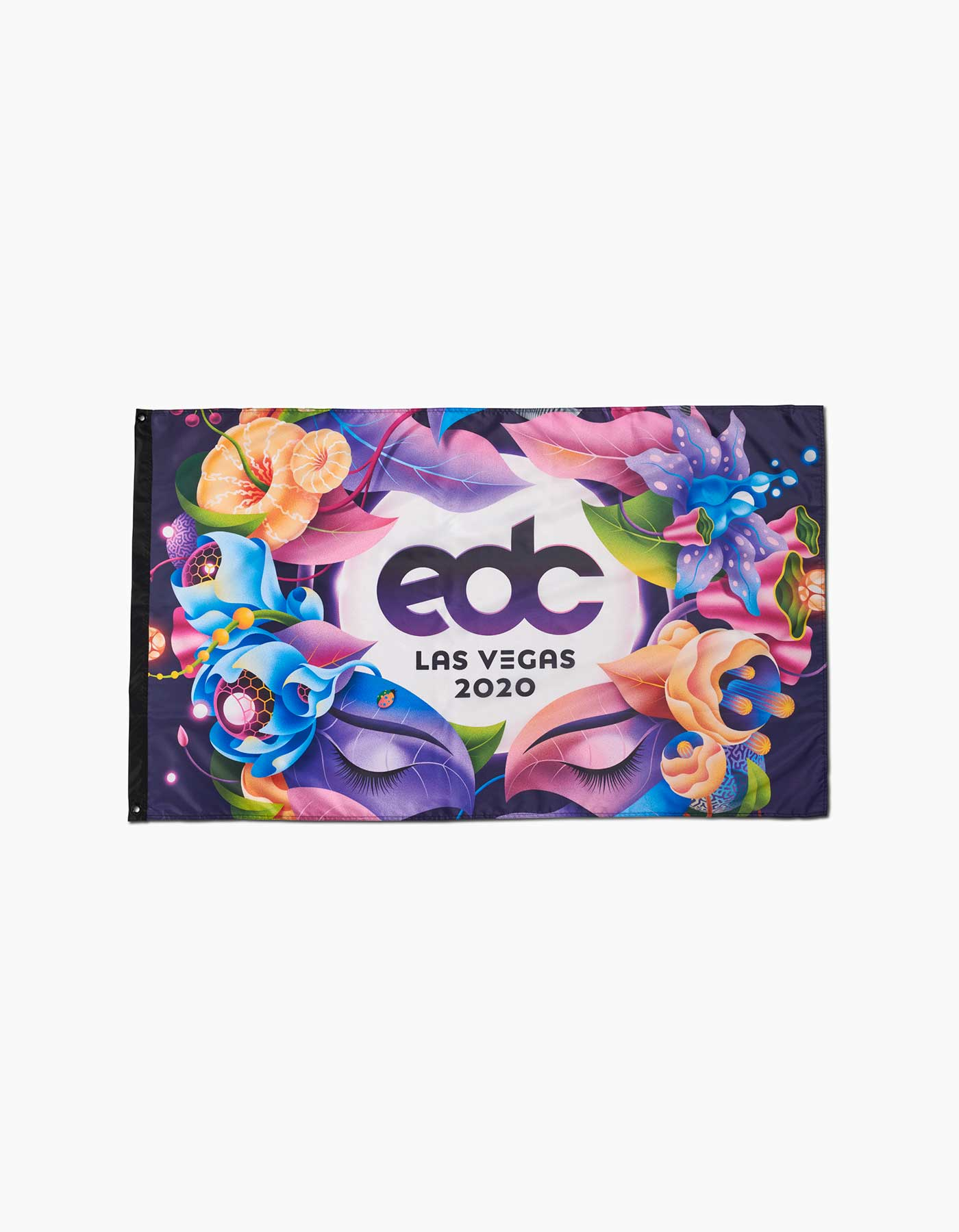 EDC Moonflower Flag