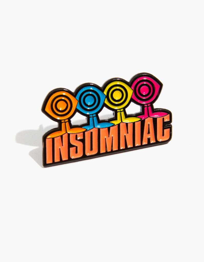 Insomniac Multi Eye Guy Pin