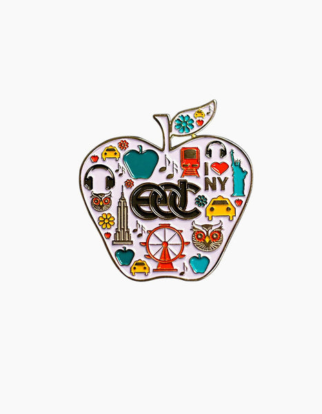 EDC-NY Apple Pin