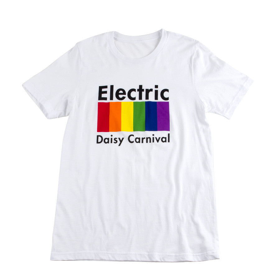 D  EDC Color Bars Tee