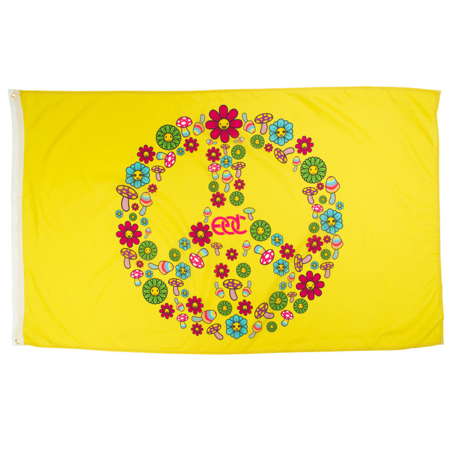 EDC Peace Sign Flag
