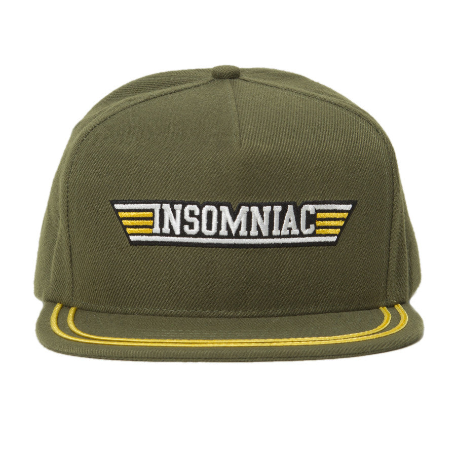 A  Insomniac Standard Issue Hat