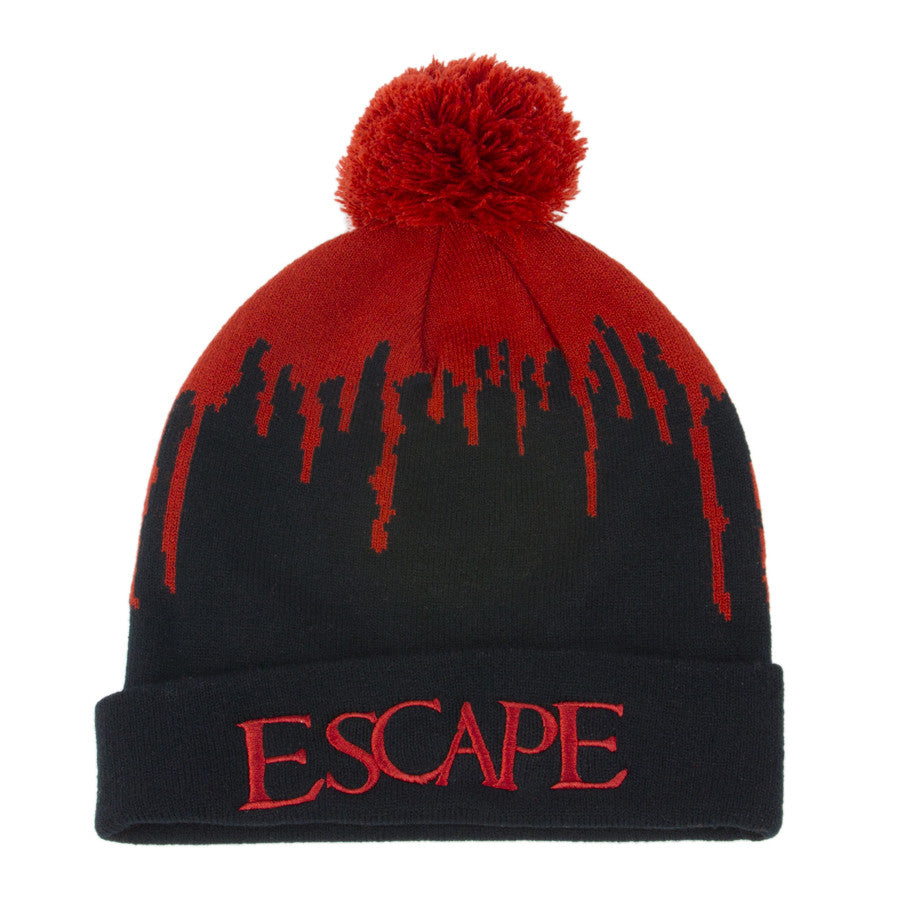 A  Escape Bloody Snow Beanie