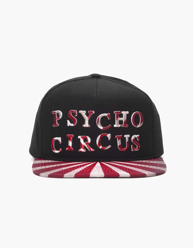 A  Escape Psycho Circus Striped Hat