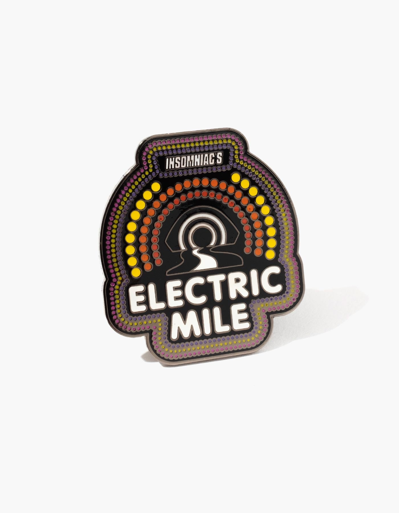 Electric Mile Pin