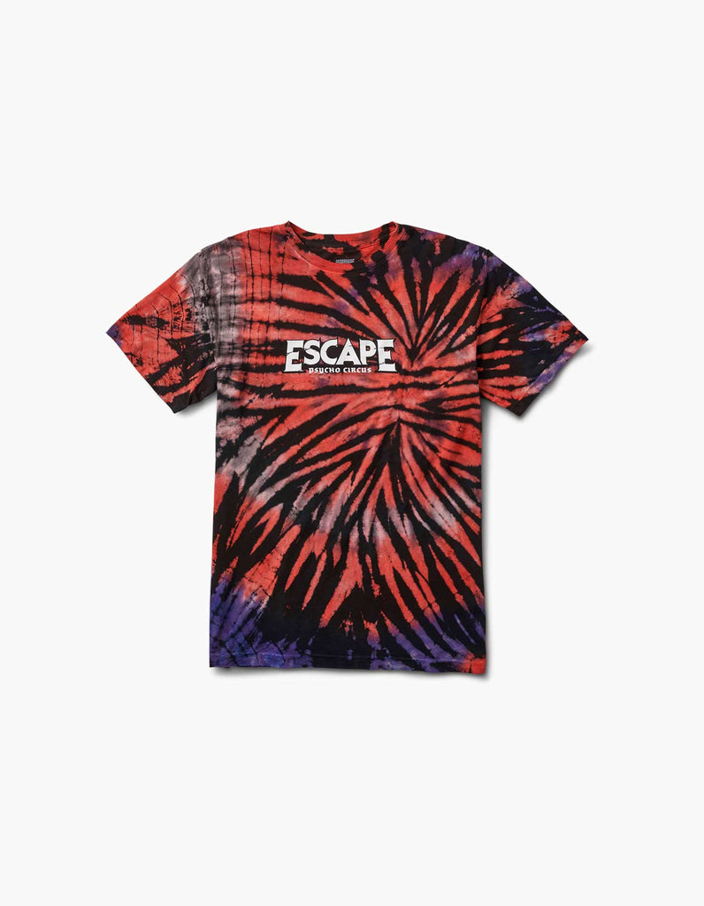 Escape Skully Tie Dye 2018 Line Up Tee