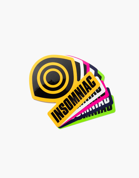 Insomniac Shop Eye Logo Sticker Pack