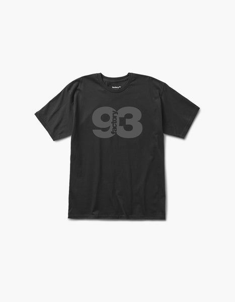Factory 93 Deep Tee Black/Grey