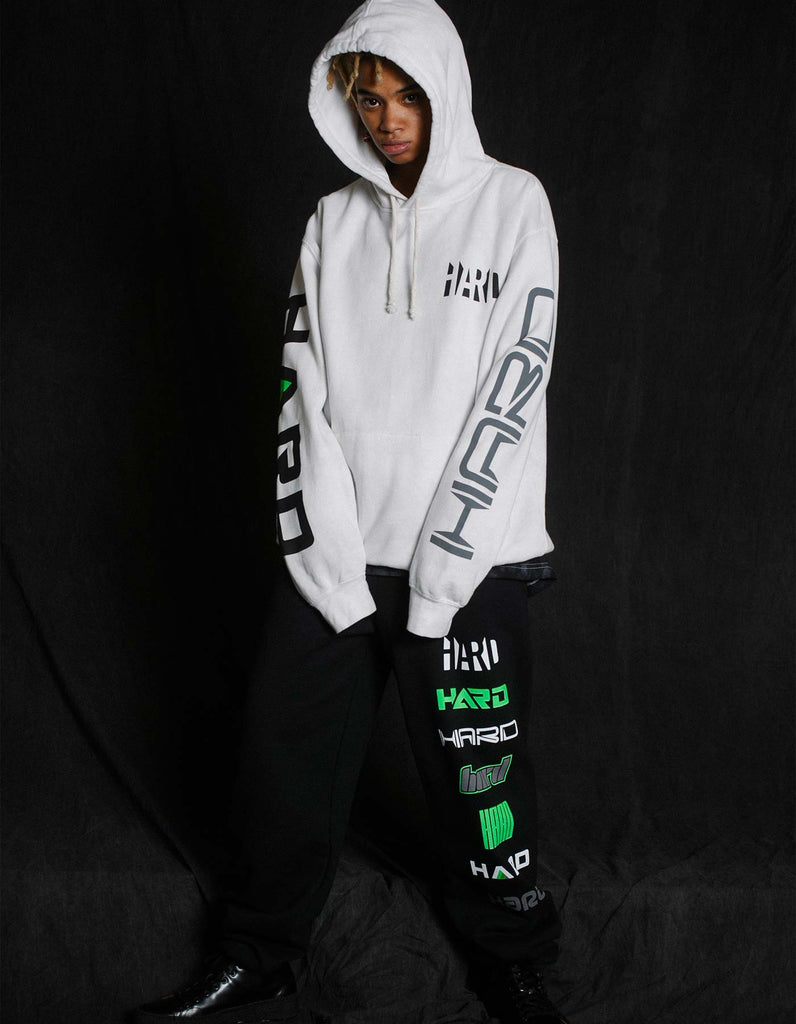 HARD Summer 2019 Logos Sweatpants Black