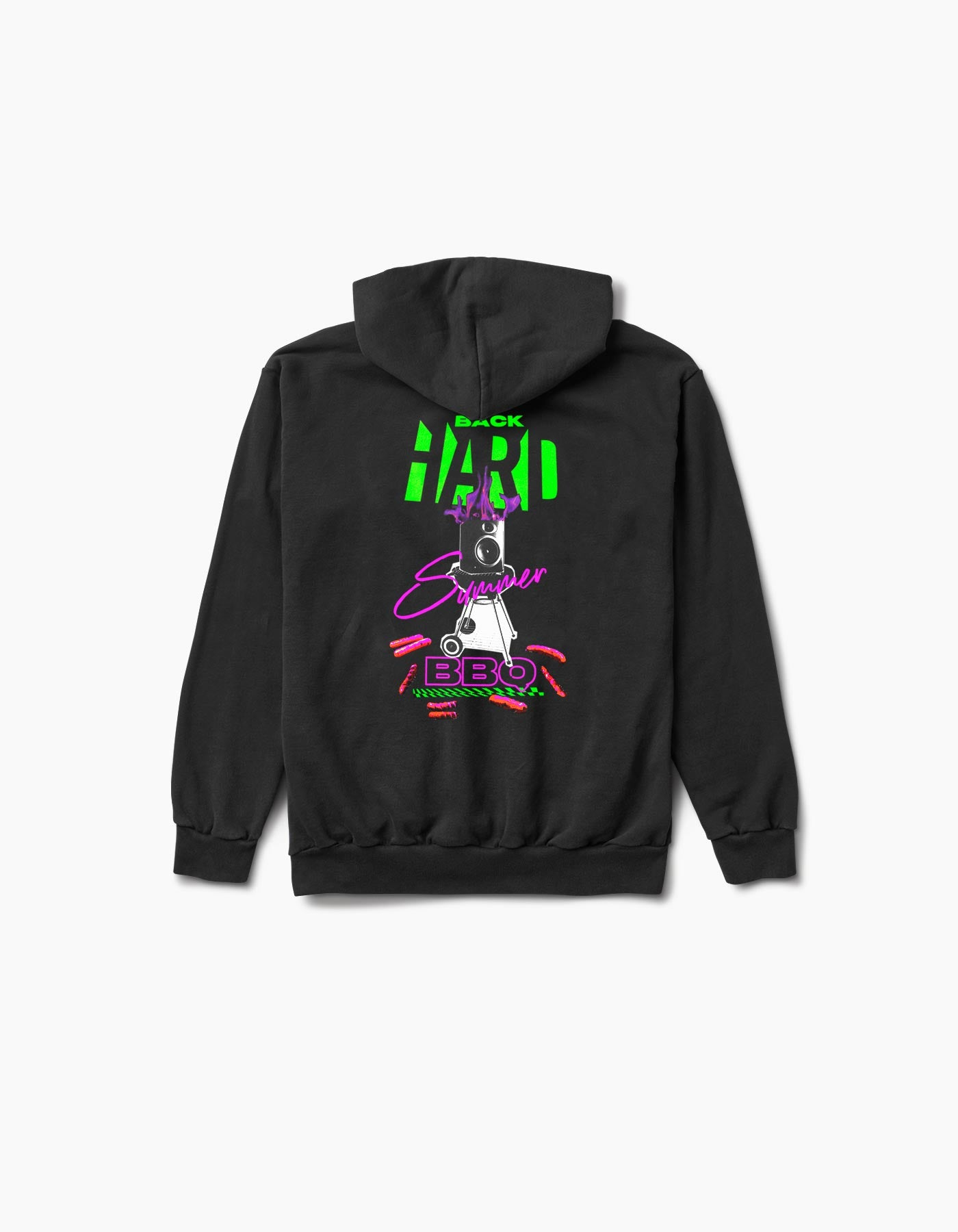 Virtual Hard Summer BYBBQ Hoodie