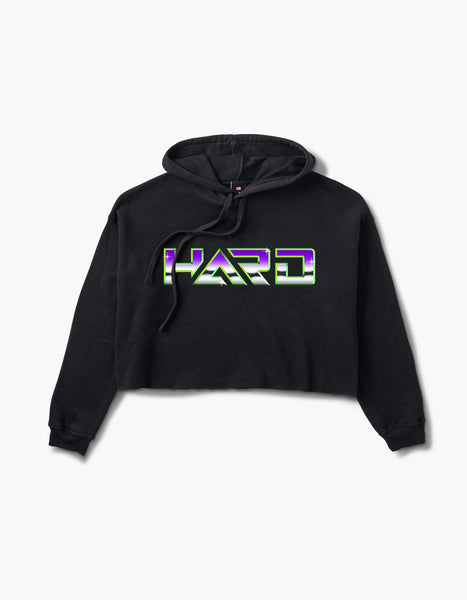 HARD Chrome Womens Crop Hood