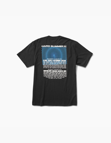 Hard Summer 2016-HSMF 10 Year Lineup Tee